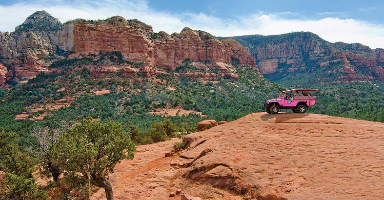 Pink Jeep: Touch the Earth Vortex [Adult]