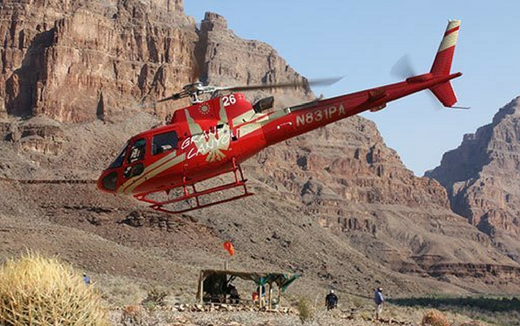 Helicopter Landing Tour Upgrade: Grand Canyon West 2019