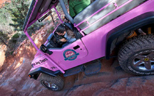 Pink Jeep: Broken Arrow [Adult]